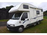 2006 6-berth CI Carioca 656 motorhome with bunk beds for sale