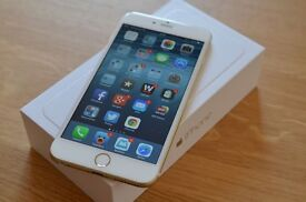 APPLE IPHONE 6+Plus UNLOCKED 16GB BRAND NEW CONDITION BOX ACCESSOIRES & BOX