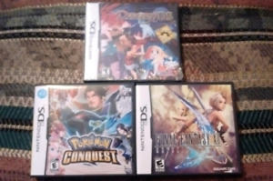 Jeux nintendo gameboy color et DS