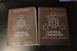 General Chemistry 9th Ed. + Solutions Manual Kitchener / Waterloo Kitchener Area image 1