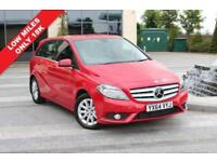 2014 64 MERCEDES-BENZ B CLASS B200 CDI BLUEEFFICIENCY SE 1.8 5D AUTO DIESEL