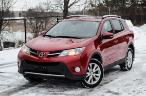 2014 Toyota RAV4 Limited with Tech Package!
