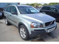 2004 Volvo XC90 2.4 geartronic D5 SE AUTOMATIC 7 SEATER DIESEL