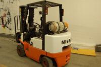 Chariot élévateur lift Nissan propane