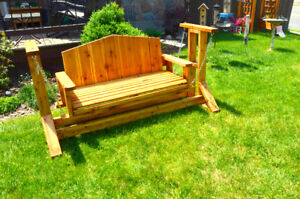 Cedar or PT Porch Swing Bench