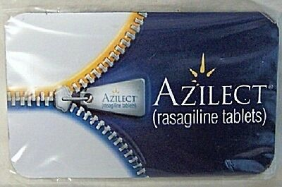 Azilect Teva Drug Rep Logo Collectible Flat Magnet New