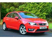 2016 SEAT Ibiza 1.2 TSI FR Technology SportCoupe 3dr Hatchback Petrol Manual