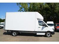 2015 MERCEDES-BENZ SPRINTER 313 CDI LONG WHEEL BASE LUTON WITH TAIL LIFT DIESEL