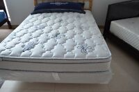 FACTORY CLEARANCE!!! QUEEN SIZE EURO TOP MATTRESS ONLY $199!!!