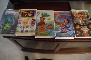 vhs tapes - children - all 20 for one easy price or 10 for $20