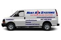 Condominiums Heating & Cooling-NEAT AIR SYSTEMS Inc.