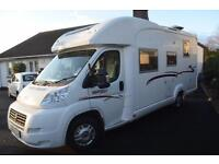 2010 Rapido 776FF Low Profile, French Bed & Drop Down Bed, 4 Berth Motorhome.