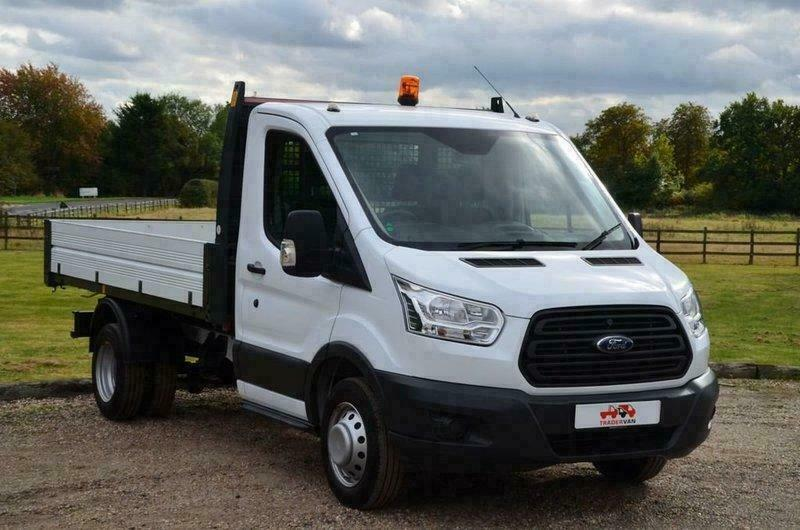 6578156fce 2017 FORD Transit 350 DRW Euro 6 1 Stop Tipper Single Cab 130 bhp DIESEL  MANUAL