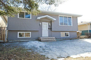 Newly renovated 4bed/2bath w/ a finished basement & private yard