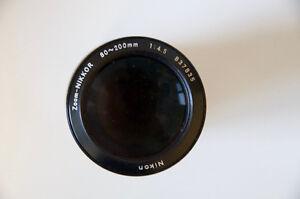 Nikon Nikkor Zoom lens 80-200mm f4.5 Kitchener / Waterloo Kitchener Area image 1