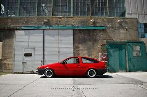 Toyota Corolla AE86 Hatchback GT-S 1987 - RED