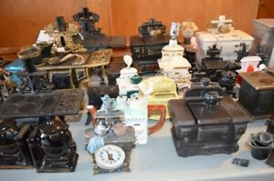 Large Collection of Miniature Stoves