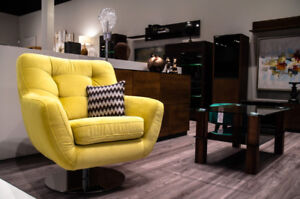 SWIVEL ARMCHAIRS – VERY COMFORTABLE – MADE IN EUROPE