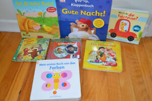 German books, CD and quality toys