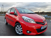 Toyota Yaris 1.33 VVT-i T Spirit MMT (red) 2012