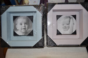 2 Baby Photo Frames (1 boy and 1 girl)