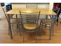 Beautiful table and chairs set, FREE delivery