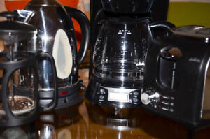 Breakfast small appliances set - VERY GOOD CONDITION