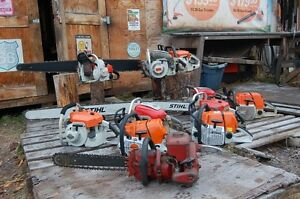 Looking for blown up chainsaws,running chainsaws Williams Lake Cariboo Area image 1