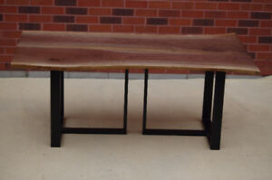Walnut/Maple Dining/Coffee Tables on Sale