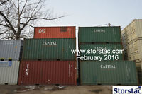 20' Used Cargo Worthy Storage / Shipping Containers $1675