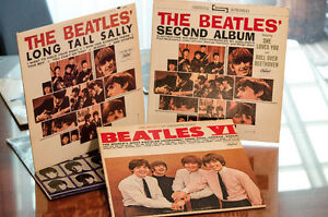 Vinyles The Beatles de collection