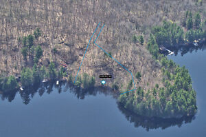 Vacant Waterfront Lot on Blackstone Lake
