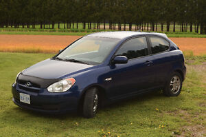 Clean 2010 Hyundai Accent L Coupe with performance upgrades