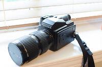 Pentax 645 medium format film camera with 80-160mm f4.5 lens