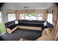 CHEAP STATIC CARVAN NORTH EAST - 12 MONTH SEASON - PET FRIENDLY - DIRECT BEACH -