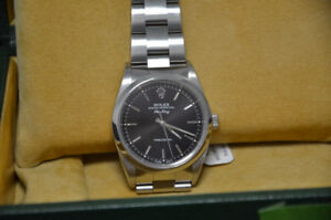 Rolex 14000 Stainless Steel Air King with all boxes & papers
