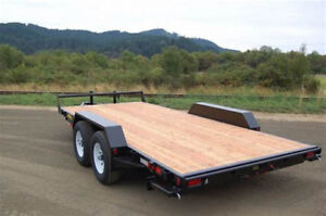 FLAT DECK TRAILER WANTED