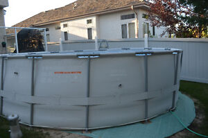 15' Hydro Force Outdoor Pool