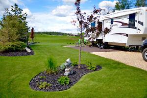 Trestle Creek Golf Resort Close to Seba Beach & Wabamun-RV Lots