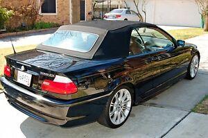 2006 BMW 330CI black Convertible