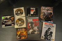 Assortment of computer games for sale