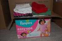 Box of Girls 4T clothes