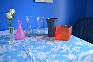 Selection of vases
