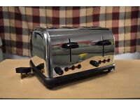 Cookworks Stainless Steel Toaster 4 piece