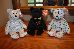 Ty Beanie Babies *Retired & Rare* - Set of 6 Bears IV Sarnia Sarnia Area image 1
