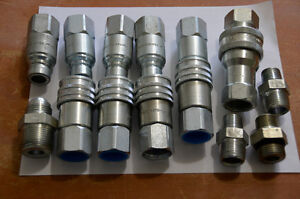 Parker  Hydraulic  Quick  Connect  Couplers