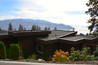 Breathtaking Home w/Lake Views & sep In-Law suite in Peachland