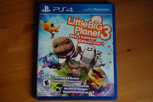 Jeu Play Station 4-Little Big Planet 3