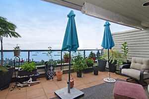 Panoramic views West Van Townhouse-like condo for SALE North Shore Greater Vancouver Area image 2