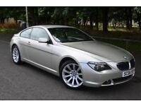 2006 06 BMW 6 SERIES 3.0 630I SPORT 2D AUTO 255 BHP